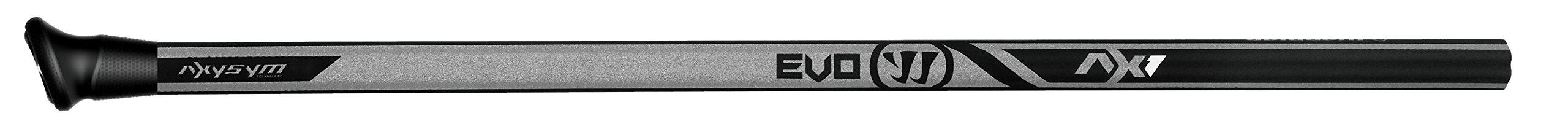 Warrior Evo AX1 Composite Attack Handle Lacrose Shaft, Black