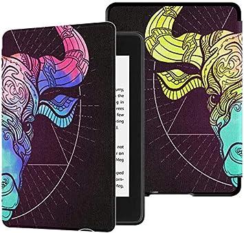 Kindle Paperwhite Estuche para Mujer Taurus Bull Ox Signo del ...