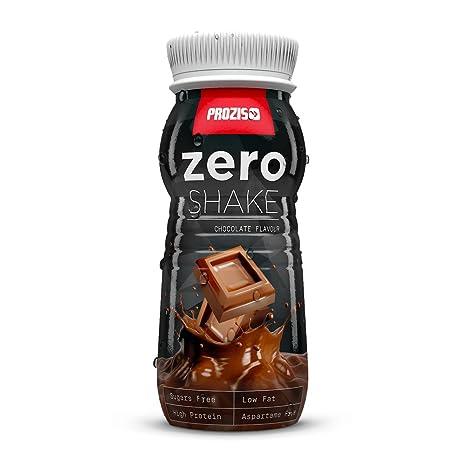 Prozis Zero Shake 250ml: El Mejor Sabor a Chocolate - RTD Protein Shake - Bajo