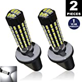 LUYED 2 X 900 Lumens Super Bright 3014 78-EX Chipsets 880 886 890 892 Led Bulb Used For DRL or Fog Lights,Xenon White