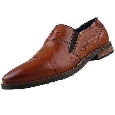 Bugatti 312539604100, Mocassins Homme, Marron (Cognac 6300), 43 EU