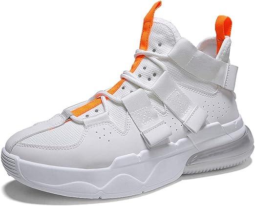 YSZDM Zapatillas de Baloncesto, amortiguación de Aire para Hombres ...
