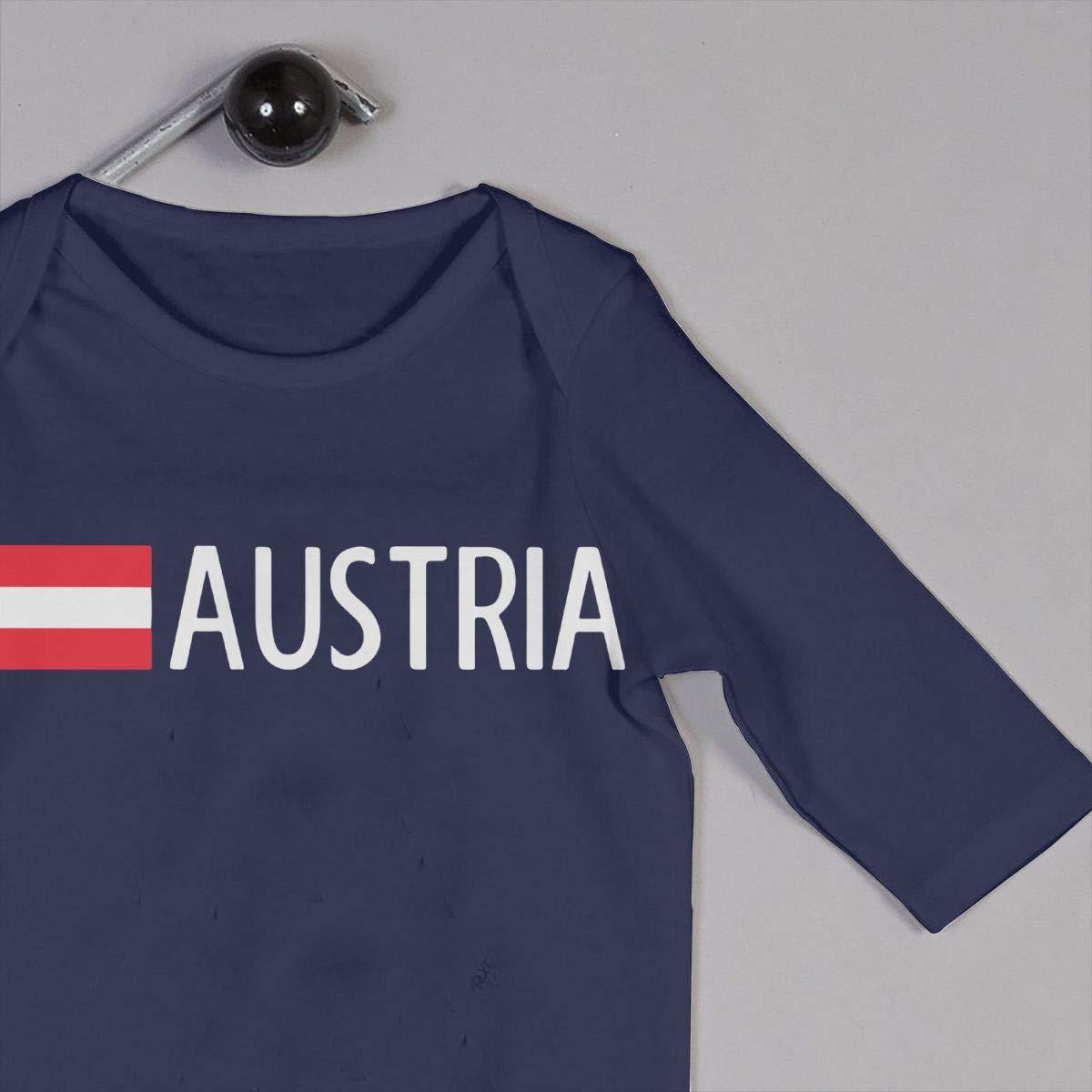LBJQ8 Austria Baby Boy Girl Sleep and Play Bodysuit Outfits Clothes