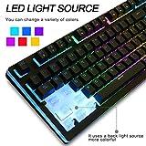 IVSO Semi Mechanical Gaming Keyboard Led Backlight