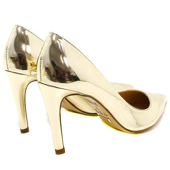 15647e2b26 Sapato Feminino Cecconello Scarpin Metalizado  Amazon.com.br  Amazon Moda