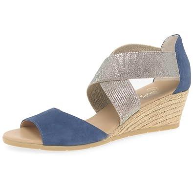 fb1c6470cef Amazon.com   Pinaz Kara Womens Wedge Heel Espadrilles   Shoes