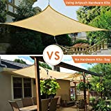 Artpuch Sun Shade Sail Hardware Kit for Rectangle