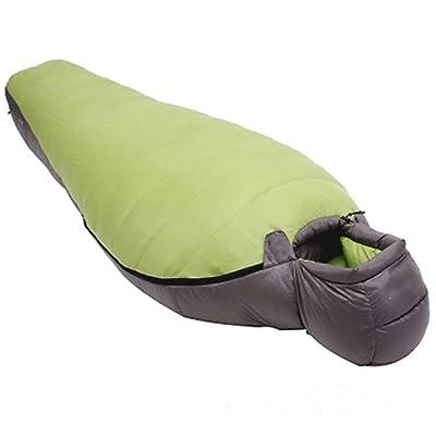 Sac De Couchage Yy.f Momie Facile à Transporter Sports De Plein Air Le Camping Sac De Couchage Randonnée Léger Et Facile Et Confortable (violet Et Vert)