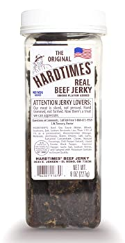 Hard Times 8oz Jar Original Real Beef Jerky