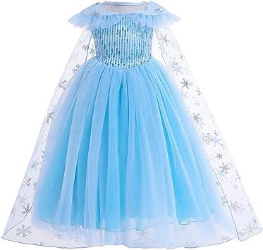 Niñas de la Reina de Las Nieves la Princesa Elsa Viste Disfraces ...