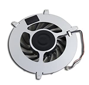 Genuine Internal Cooling Fan 15 Blades Cooler for Sony PS3 1000 1st Gen Fat Game Console 20GB 40GB 60GB 80GB Console W/0 Heatsink Radiator Replacement Repair Part