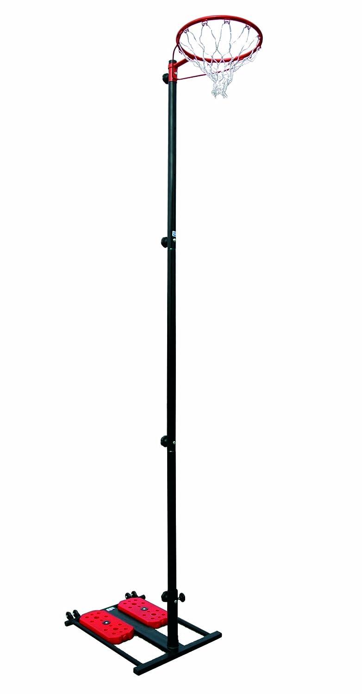 Sure Shot - Canasta de netball con poste y base 66802
