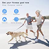 Greemosi Fitness Tracker Watch, Pedometer Watch Activity Tracker Smart Wristband with Heart Rate/Sleep Monitor Healthy Tracker, Distance and Step Counter, Calorie Counter for Walking Running