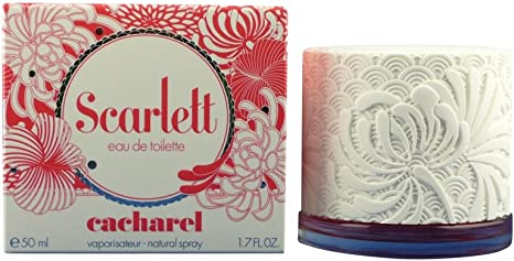 Scarlett eau de toilette con vaporizador 50 ml: Cacharel: Amazon.es: Belleza
