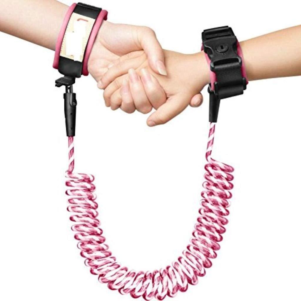 Anti-Lost Wrist Flexible Child Walking Strap Adjustable Child Safety Strap Anti Lost Wrist Walking Hand Belt Walking Strap Lost Wrist Link Rotatable Connector (Color : B)