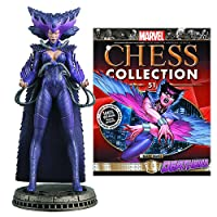 Marvel Deathbird Black Pawn Chess Piece with Collector Magazine