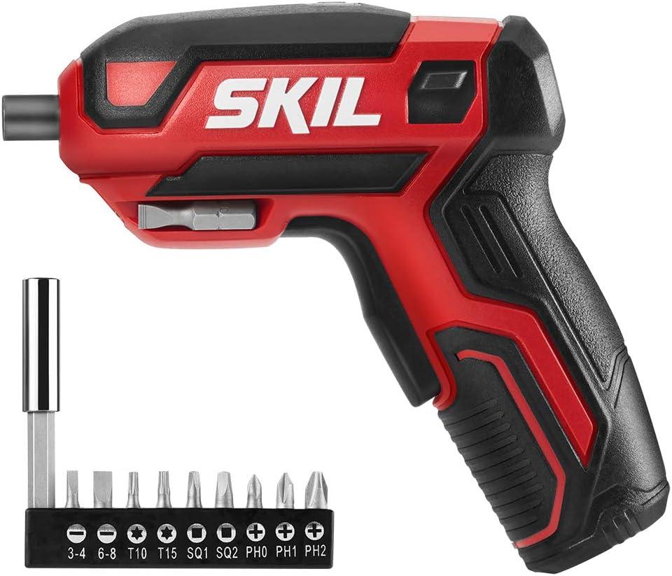 SKIL - Destornillador inalámbrico recargable de 4 V
