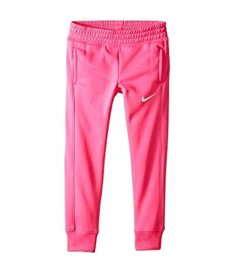 499256cc16686 Amazon.com: Nike Kids Girls' KO 3.0 Fleece Pants (Little Kids), Pink ...