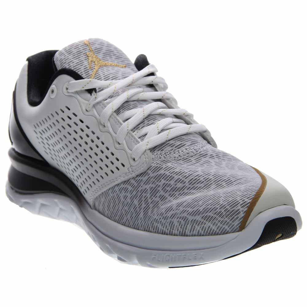 Nike Men's Jordan Trainer ST Prem B01F9KZ7GC 12 D(M) US|White/Metallic Gold-black