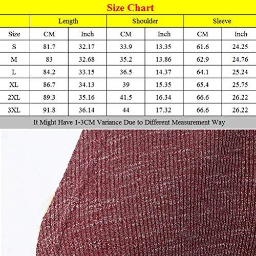Fashion Legere Automne en Femme Veste D Tricot Printemps Vintage Cardigan qOBP6H