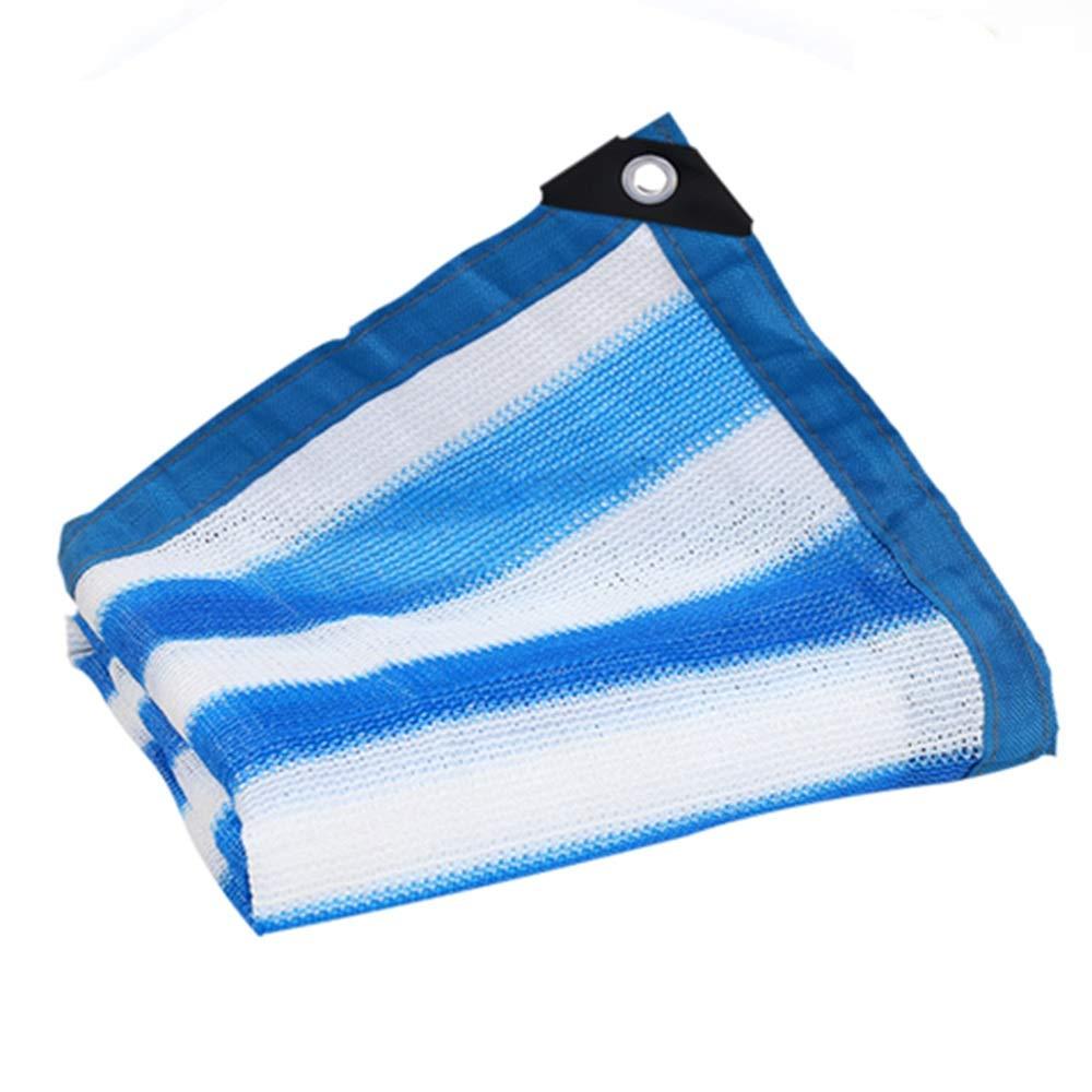 ガーデンシェードネット 85% 青/白 サンネットワーク 日焼け止め のために使用される カーポート 温室効果 ルーフ ギラン HH (Color : 青, Size : 5x6m) 青 5x6m