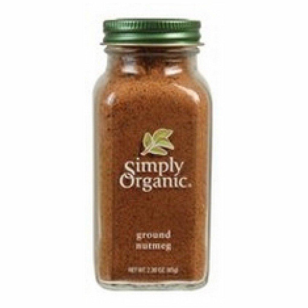 Simply Organic Ground Nutmeg (6x2.3Oz )