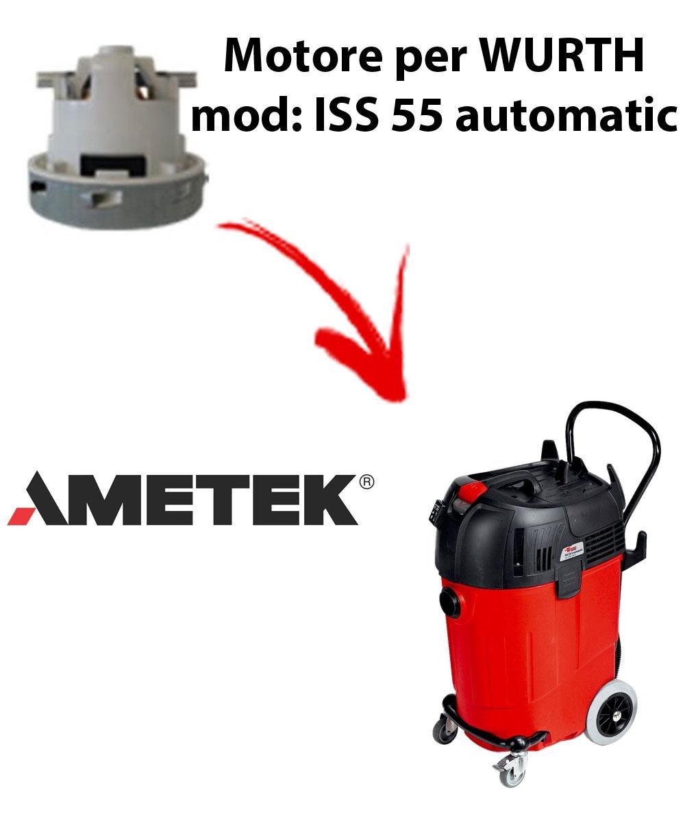 ISS 55 automatic motor Ameteken WURTH succión para aspirador ...
