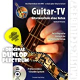 Guitar TV (+DVD) inkl. Original Dunlop Plektrum! Die erfolgreiche Gitarrenschule ohne Noten mit über 70 Gitarrenvideos (broschiert) von Reinhold Pomaska (Noten/Sheetmusic)