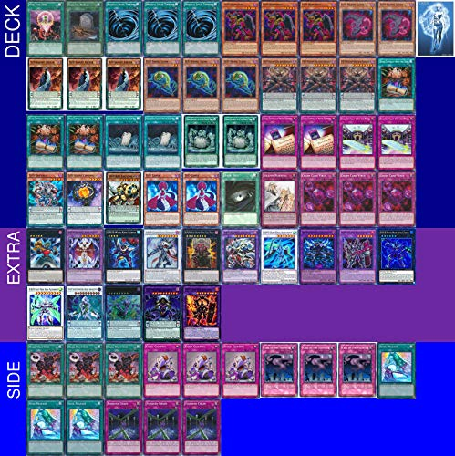 Yu-Gi-Oh! YUGIOH Tournament Ready D/D/D Deck with Complete Extra & Side Deck and Exclusive Phantasm Gaming Token + a Deck Box & 100 Sleeves