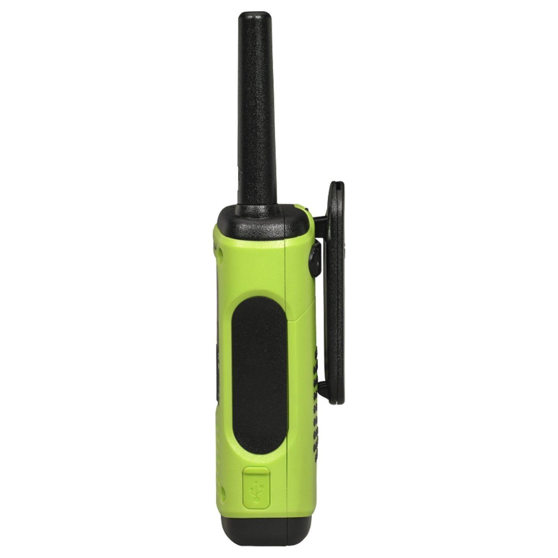 Motorola Talkabout T605 Two-Way Radios / Walkie Talkies - Rechargeable & Fully Waterproof 4 PACK