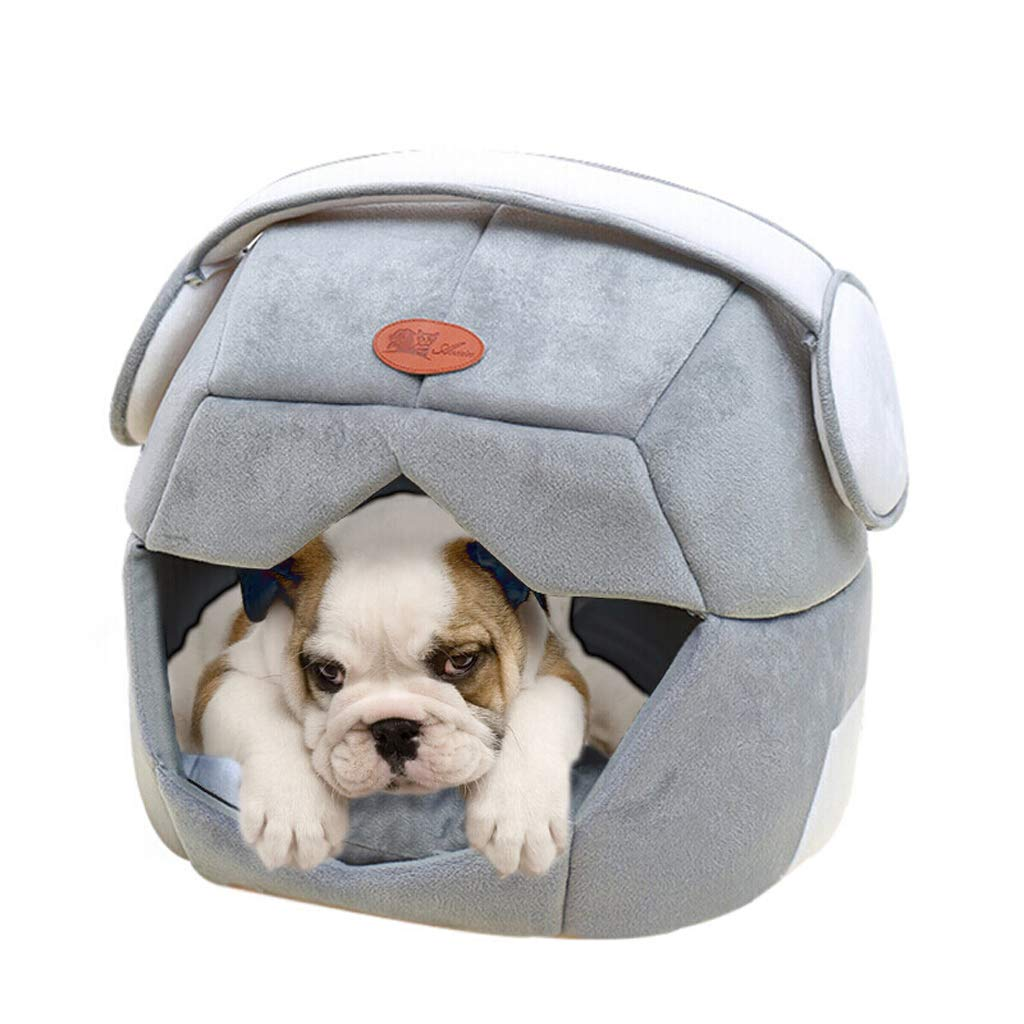 B Small B Small JBP Max Dog Bed Cat Nest Pet Nest Pet Bed Space Cap Small Medium Dog Puppy Nest Dog Bed Cat Mat Four Seasons Removable Cat Kennel,B,S