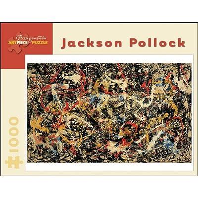 Jaskon Pollock - Convergence: 1,000 Piece Puzzle (Pomegranate Artpiece Puzzle): Pollock, Jackson: Toys & Games