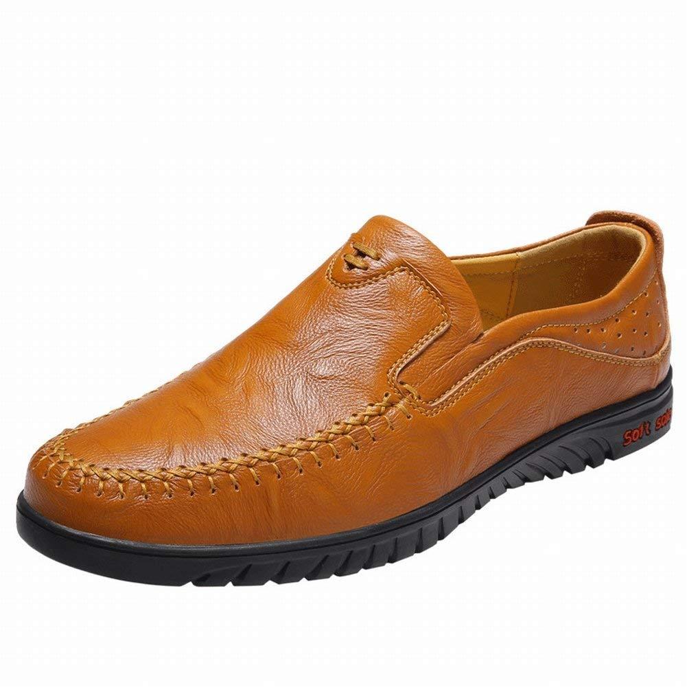 Große Erbsenschuhe Männliche Lederne Faule Schuhe Schuhe Schuhe Britische Grüne Freizeitschuhe die Schuhe Antreiben (Farbe   Schwarz Größe   41) 8ebbb6