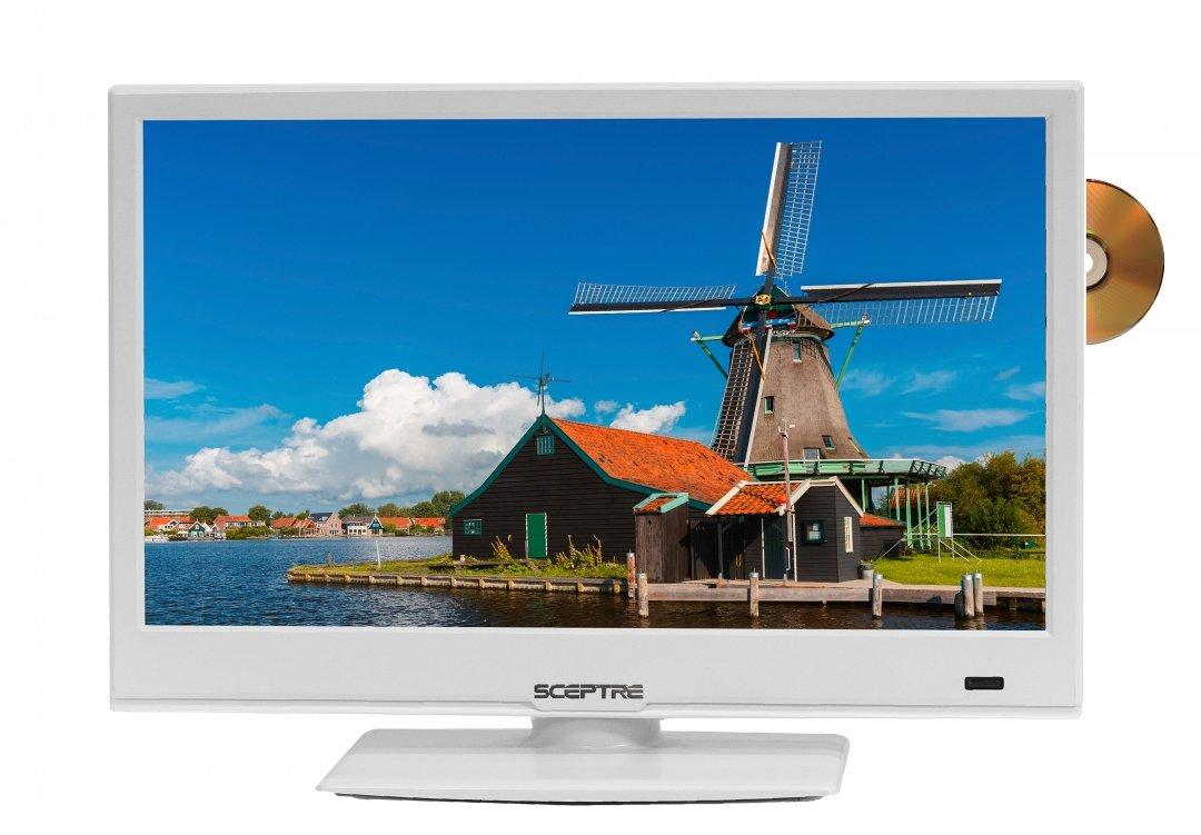 Sceptre 16 Inches 720p LED TV E168WD-SS (2017)