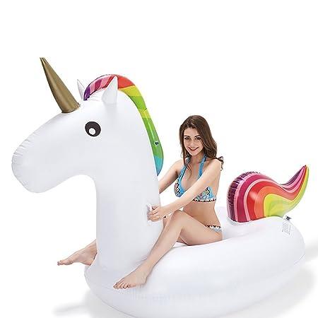 GTT Flotador de piscina unicornio / Unicorn Swim Ring / Unicorn Flotadores de natación / Adultos Piscina de niños Flotadores / Unicorn Pool Pool Toys ...