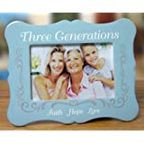 three generations picture frame 4 x 6 photo frame faith hope love
