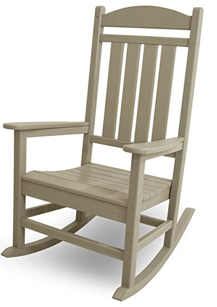 Marvelous Polywood R100Sa Presidential Rocking Chair Sand Ocoug Best Dining Table And Chair Ideas Images Ocougorg