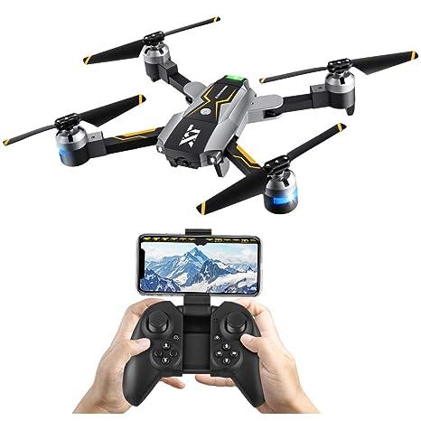 Atoyscasa,Drone con cámara de video en vivo,FPV RC Drone con 720P HD