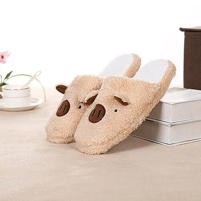 acheter le meilleur Jeunes Couples De La Famille Des Garçons De Velours Corail Chaussures Filles Glissent Des Semelles En Caoutchouc (38-39: 37-38 Réglage Pour Ours: Café) Hommes Chaussures Femmes achat de sortie 2J33h5