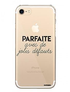 coque iphone 8 transparent avec ecriture