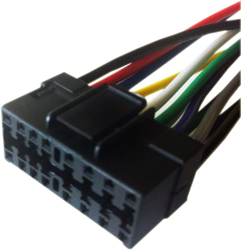 Amazon.com: 16 Pin Auto Stereo Wiring Harness Plug for JVC KD-R200:  Everything Else | Jvc Car Stereo Wiring Harness 8 Pin |  | Amazon.com
