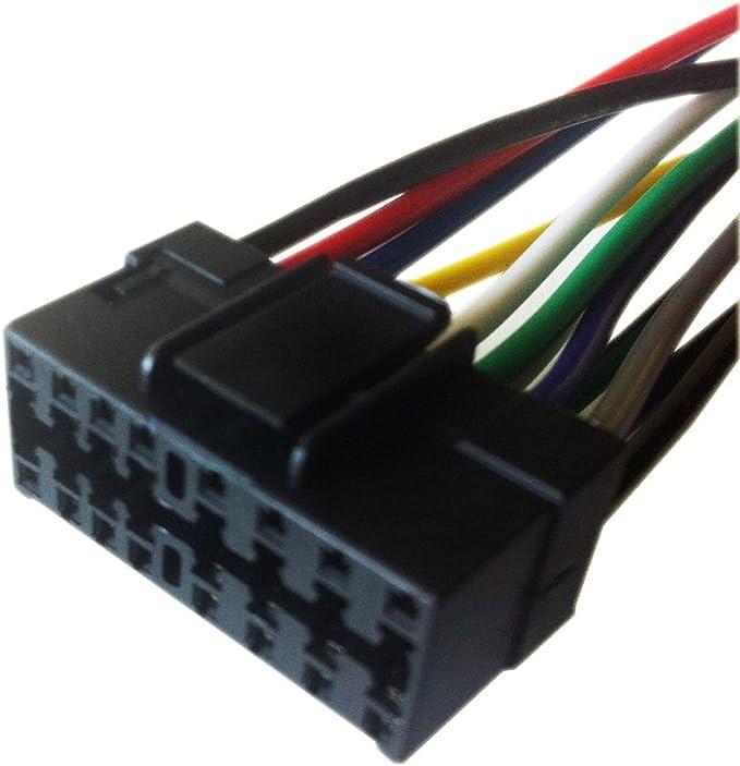 Amazon.com: 16 Pin Auto Stereo Wiring Harness Plug for JVC KD-R200:  Everything ElseAmazon.com