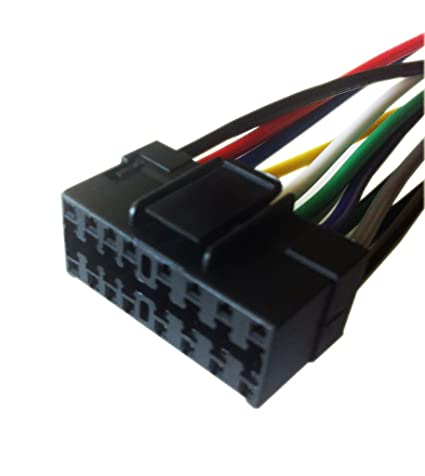 Magnificent Amazon Com 16 Pin Auto Stereo Wiring Harness Plug For Jvc Kd Pdr50 Wiring Cloud Hisonuggs Outletorg