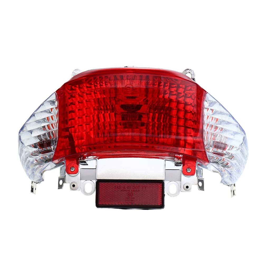 Motorcycle Scooter 50cc Rear Taillight Motorbike Turn Signal Brake Stop Light Gy6 Chinese Taotao Sunny Beaums