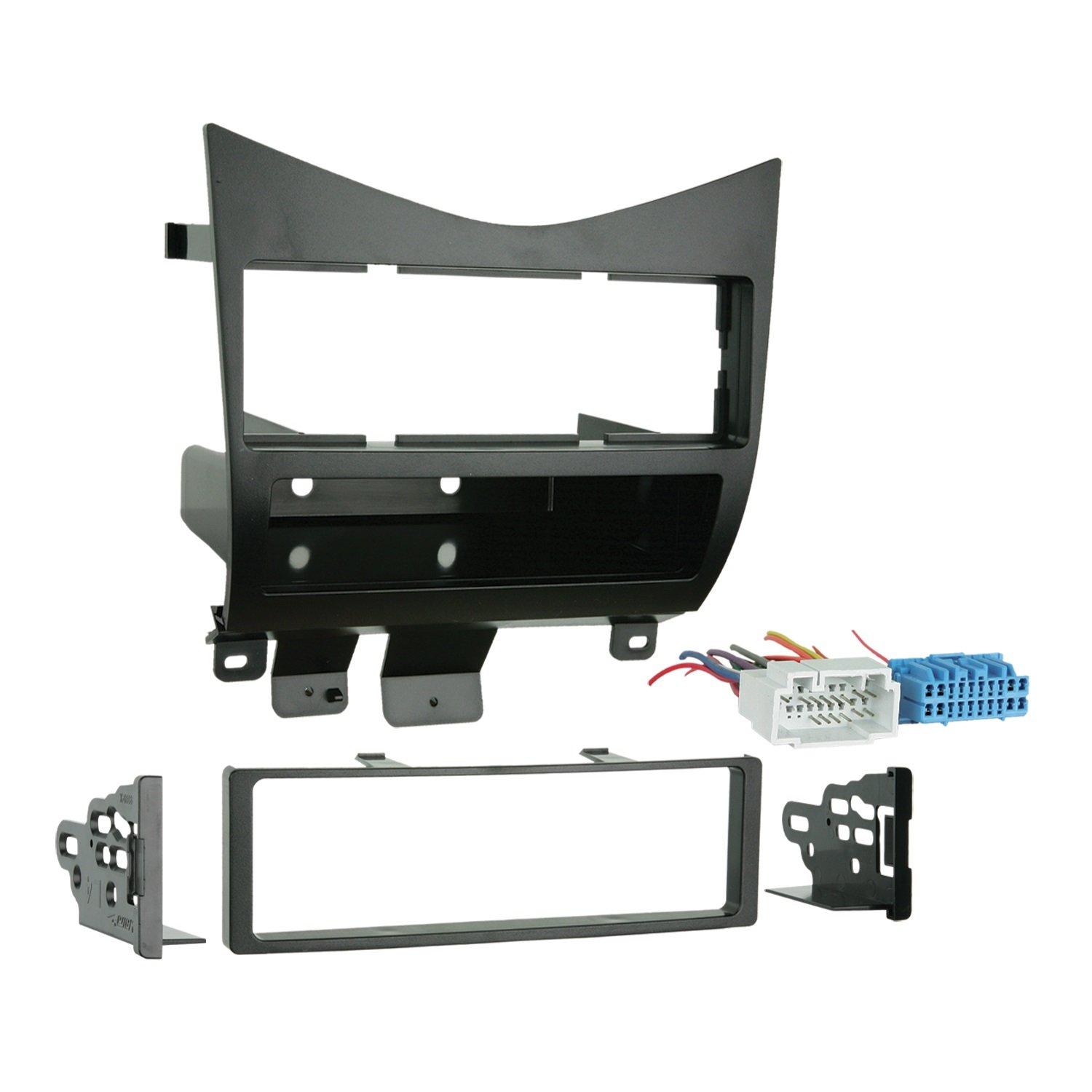 61p9j9SSs5L._SL1500_ amazon com metra 99 7862 lower dash single din installation kit single din wiring harness gm 98 at webbmarketing.co