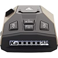 $137 » Cobra RAD 450 Laser Radar Detector: Long Range, False Alert Filter, Voice Alert & OLED Display