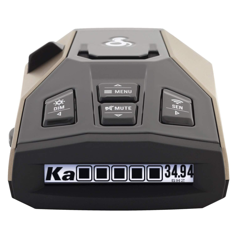 Cobra RAD 450 Laser Radar Detector: Long Range, False Alert Filter, Voice Alert & OLED Display by Cobra