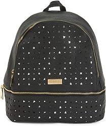 Bebe Trinity Large Backpack in Black