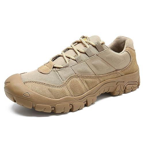 Zapatillas de Senderismo para Hombre al Aire Libre, Impermeables, Transpirables, Zapatillas de Deporte de Entrenamiento Antideslizantes: Amazon.es: Zapatos ...