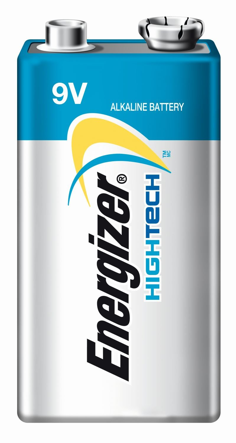 Energizer Hightech Batteries 9v 1 Pack One Piece Amazon Co Uk